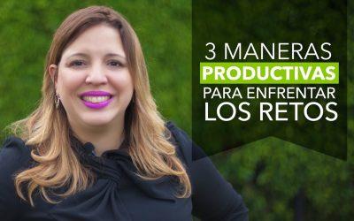 3 Maneras Súper Productivas de Enfrentar tus Retos – Suz Tip #69